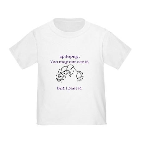 I feel Epilepsy Toddler T-Shirt