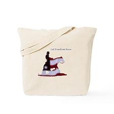 freedom rein Tote Bag
