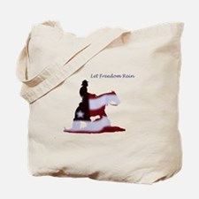 freedom rein Tote Bag