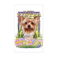 Easter Egg Cookies - Yorkie Decal