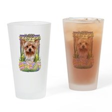 Easter Egg Cookies - Yorkie Drinking Glass