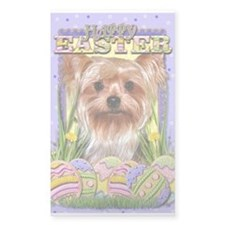 Easter Egg Cookies - Yorkie Decal