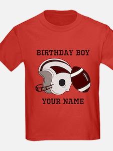 Birthday Boy Football T
