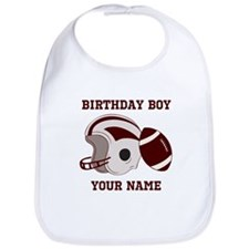 Birthday Boy Football Bib