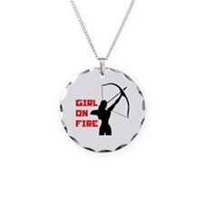 HG Girl on fire Necklace