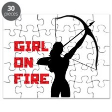 HG Girl on fire Puzzle