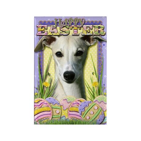 Easter Egg Cookies - Whippet Rectangle Magnet (10