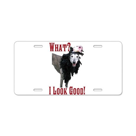 Look Good! Aluminum License Plate
