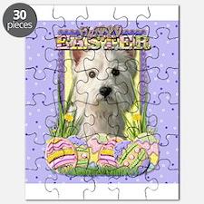 Easter Egg Cookies - Westie Puzzle