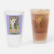 Easter Egg Cookies - Westie Drinking Glass