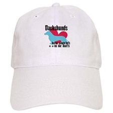 Dachshund Pawprints Baseball Cap