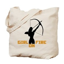 HG Girl on fire Tote Bag