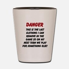 Last Article of Clothing Shot Glass