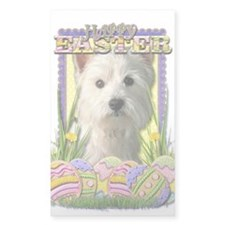 Easter Egg Cookies - Westie Decal