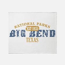 Big Bend National Park Texas Throw Blanket