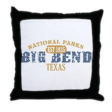 Big Bend National Park Texas Throw Pillow