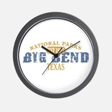 Big Bend National Park Texas Wall Clock