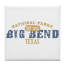 Big Bend National Park Texas Tile Coaster