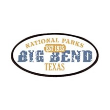 Big Bend National Park Texas Patches