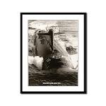 USS PLUNGER Framed Panel Print