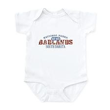 Badlands National Park SD Infant Bodysuit
