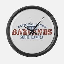 Badlands National Park SD Large Wall Clock