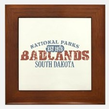 Badlands National Park SD Framed Tile