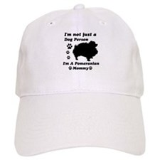 Pomeranian Mommy Baseball Cap