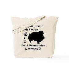 Pomeranian Mommy Tote Bag