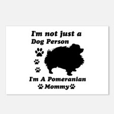 Pomeranian Mommy Postcards (Package of 8)