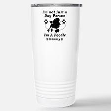 Poodle Mommy Travel Mug