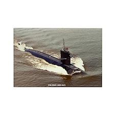 USS POGY Rectangle Magnet
