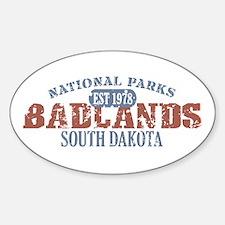 Badlands National Park SD Decal