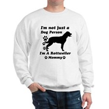 Rottweiler Mommy Sweatshirt