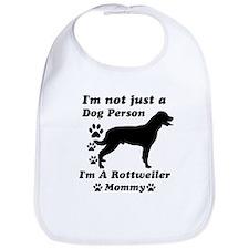 Rottweiler Mommy Bib