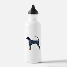 Blue Tick Coonhound Water Bottle