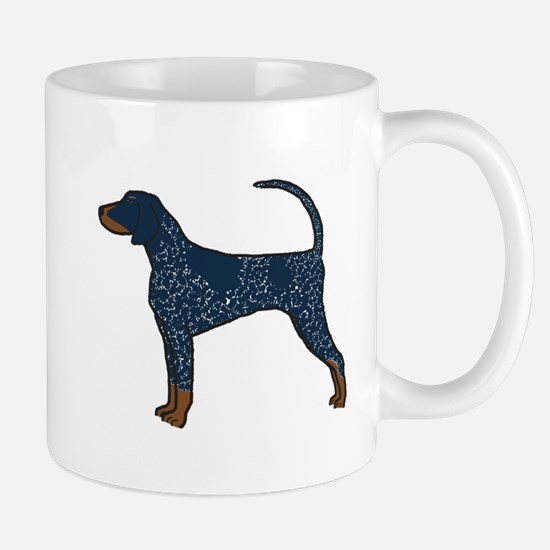 Blue Tick Coonhound Mug