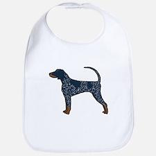 Blue Tick Coonhound Bib