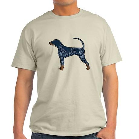 Blue Tick Coonhound Light T-Shirt