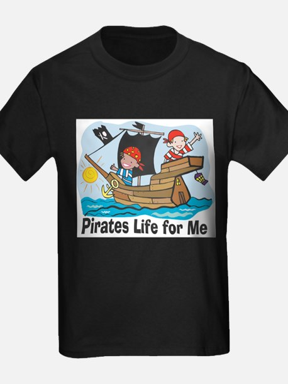 Pirates Life For Me Kids T-Shirt