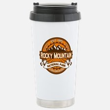 Rocky Mountain Pumpkin Stainless Steel Travel Mug