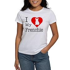 I Love My Frenchie Tee