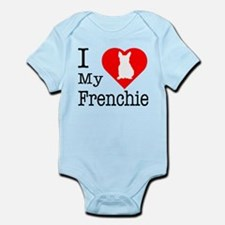 I Love My Frenchie Infant Bodysuit