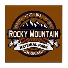Rocky Mountain Vibrant Tile Coaster