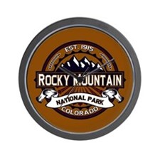 Rocky Mountain Vibrant Wall Clock