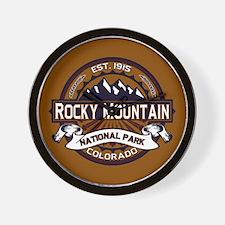 Rocky Mountain Vibrant Wall Clock