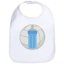 Volleyball Baby Gift Bib
