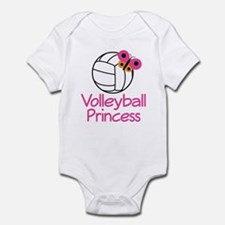 Volleyball Princess Gift Infant Bodysuit