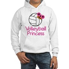 Volleyball Princess Gift Hoodie Sweatshirt