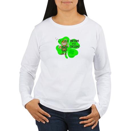 WMM IRISH Women's Long Sleeve T-Shirt